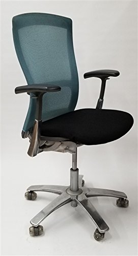 Knoll Life Chair Fully Adjustable Model Teal Mesh - NEW in Open Box