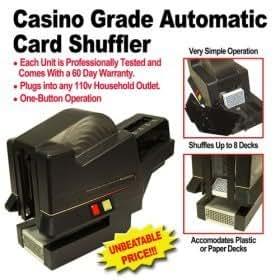 Automatic casino card shuffler native casino impact study