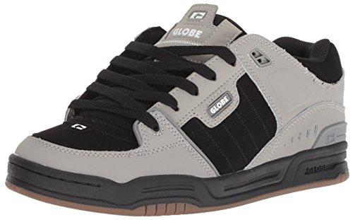 Fusion Men Shoes - Globe Men's Fusion Shoe, drizzle grey/black, 9 M US