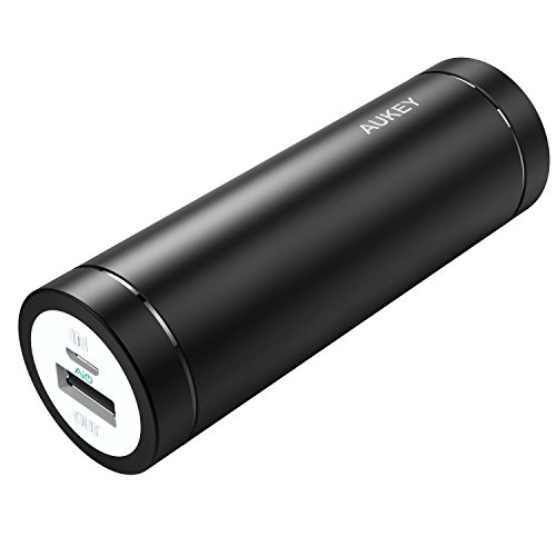 Aukey PB-N37 minuscule 5000mAh Ultra-Portable ability Bank for Smartphones - Black
