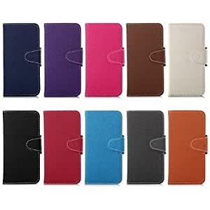 DUR 5.5 Inch Jean Pattern Wallet Leather Case for iPhone 6 Plus (Assorted Colors) , Light Blue