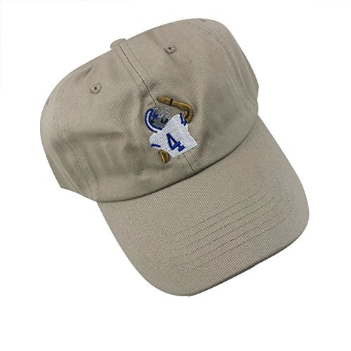 Guangping Liu Dallas Cowboys Dad Hat Men's Baseball Cap Embroidered Adjustable Strapback Cotton (High Crown Cowboy Hat)