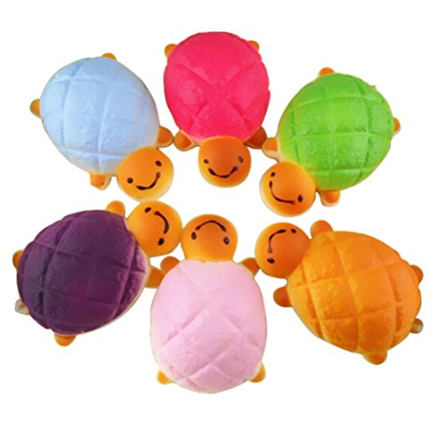 Tortoise Bread - WEIYI Cute Bread Tortoise Shaped Pendant for Phone Charms/Straps Toys (Random color)
