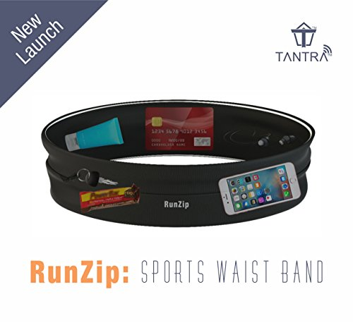 Tantra RunZip: Sports Waist Band, Running Belt, Gym Mobile Pouch For Men and Women