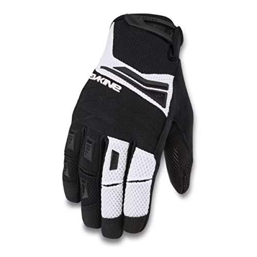 Dakine Finger Full Glove - Dakine Cross-X Glove - Men's Black/White, M