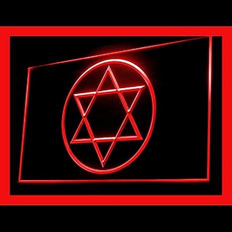Amazon.com: 150024 Star of David Jewish Freedom - Cartel con ...