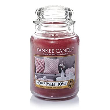 Yankee Candle Home Sweet Home Large Jar Candle, Food & Spice Scent