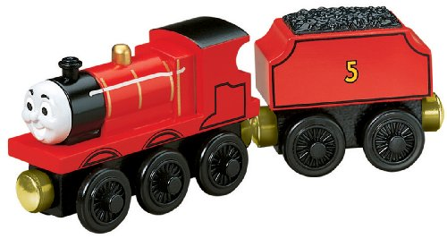 Learning Curve Brands Thomas and Friends Wooden Railway - Talking Railway James ()