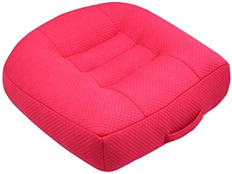 Noacog Car Seat Cushion,Memory Foam Wedge Cushion for Sofa Chair Car Home Decor,Breathable 3D Mesh Cover