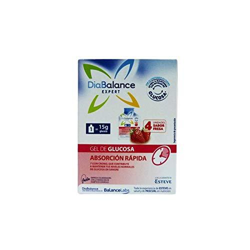 Diabalance Expert Gel Glucosa Absorción Rápida 4 Sobres - Ayuda a Mantener Niveles de Glucosa