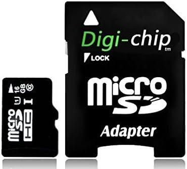 Digi-Chip Tarjeta de memoria micro SD de 16 GB para cámaras de acción Apeman, Vemont, Vtin, Victur, Crosstour, Campark y Camkong