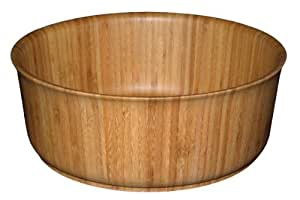 Totally Bamboo 20-5068 13-Inch Contempo Serving Bowl (Brown)