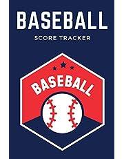 Baseball Score Tracker: Baseball Score and Stat Tracker Notebook