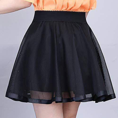 En Falda Negro Para E Corte A girl Mujer O Trapecio w7wqX5A