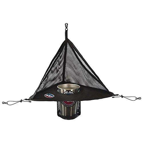 Big Agnes Corner Bar Camping Tent Cupholder, Black