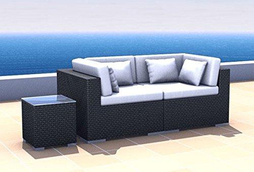 Terrassenmöbel rattan lounge  Amazon.de: Gartenmöbel Rattan Lounge Espace Start 1 - 2 Sitze inkl ...