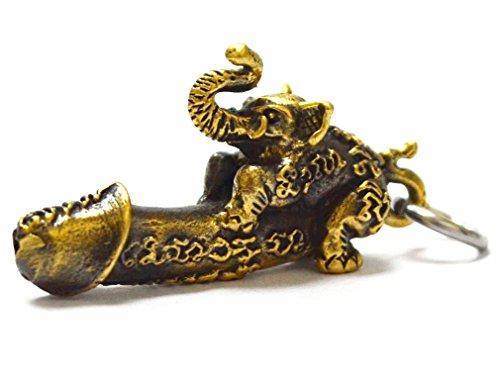 Thai Jewelry Magic Powerful Amulets Paladkik Elephant ()