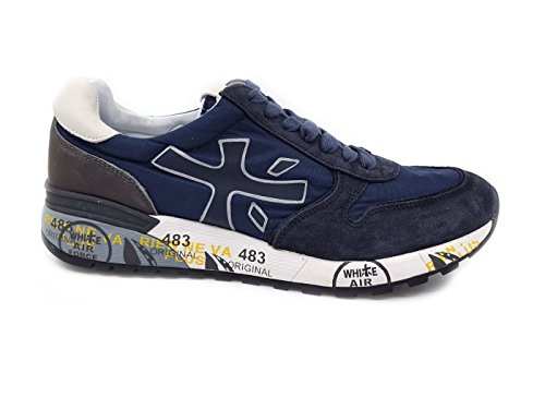 Mick Uomo Premiata 2818 Scura Blu Blue Sneaker
