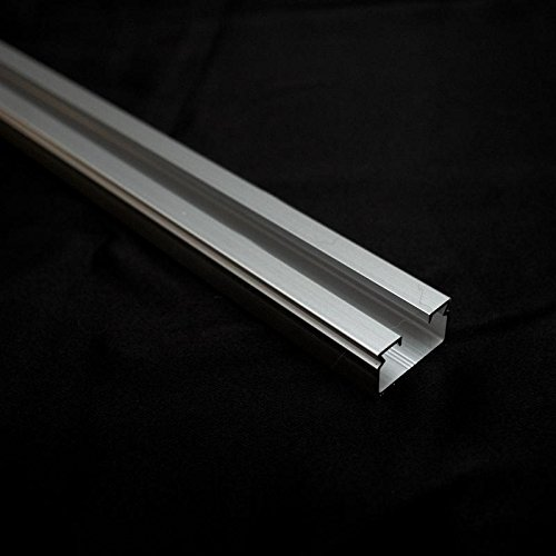 RoomDividersNow Ceiling Curtain Track Rail, Silver (3ft Wide) (System Divider Room)