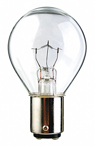 Trade Number 312, 36 Watts Miniature Incandescent Bulb, S11, Double Contact Bayonet (S11 Double Contact Bayonet)