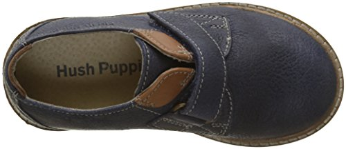 Hush Puppies Peterson, Zapatos de Cordones Derby Para Niños azul (Marine)