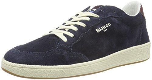 Blauer USA Herren Retro Low-Top Blau (Navy)