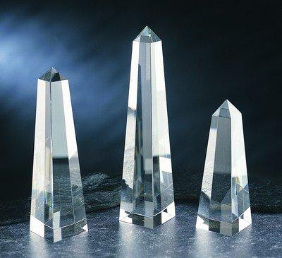 - Obelisk Crystal Award - Large