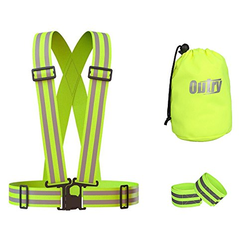 OUTRY Reflective Safety Visibility Harness