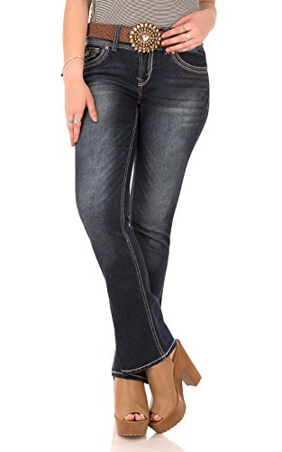Juniors Belted Jeans - 6