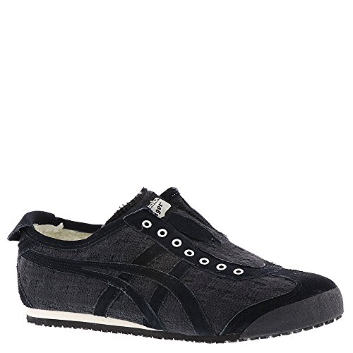 66 Onitsuka 8 Slip Womens Sneakers UK Black Mexico on Black Tiger 4twArqtp