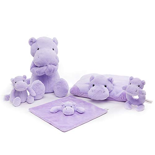 FRANKIE ZHOU Stuffed Hippo Animal Plush Toys 14