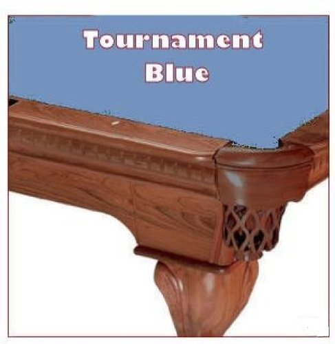 8' Tournament Blue ProLine Classic 303 Billiard Pool Table Cloth -