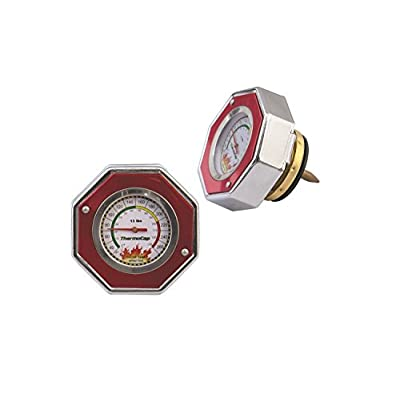 Mr. Gasket 2470R Domestic ThermoCap 13 PSI-RED: Automotive