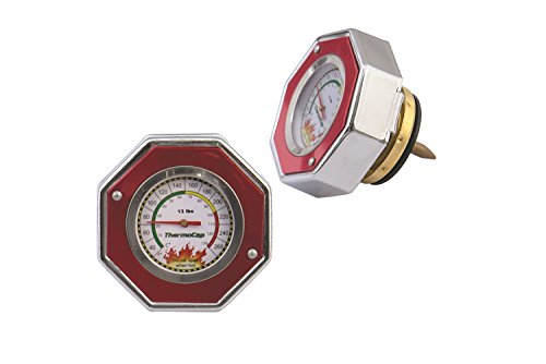- Mr. Gasket 2470R Domestic ThermoCap 13 PSI-RED