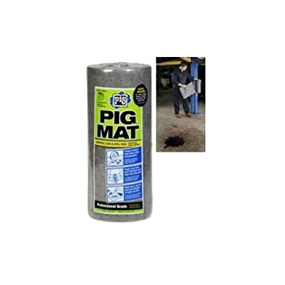 PIG Universal Lightweight Absorbent Mat Roll - 50Ft.L x 15in.W, Model Number 25201: Automotive