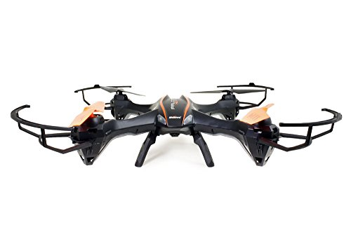 UDI RC U842 6-Axis Gyro 2.4Ghz Falcon RC Quadcopter with HD Camera, Black