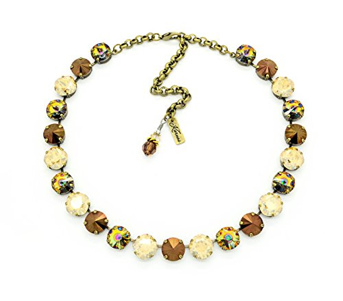 coffee-with-friends-12mm-mixed-size-cushion-cut-crystal-choker-swarovski-elements-pick-your-finish-k