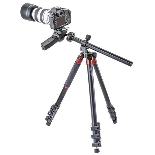 3Pod Orbit Aluminum Tripod for DSLR Photo & Video Cameras, 4 Section Extension Legs, with Pistol Grip Ballhead, Bubble Level, with Bag. 69'' by 3Pod