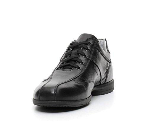 Nero Giardini - Zapatos de cordones de Piel para hombre negro negro
