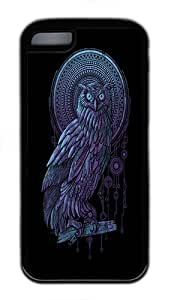 IMARTCASE iPhone 5C Case, Owl Durable Case Cover for Apple iPhone 5C TPU Black