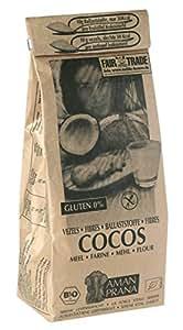 Amazon.com : Amanprana Coconut fibres / Coconut flour 500g