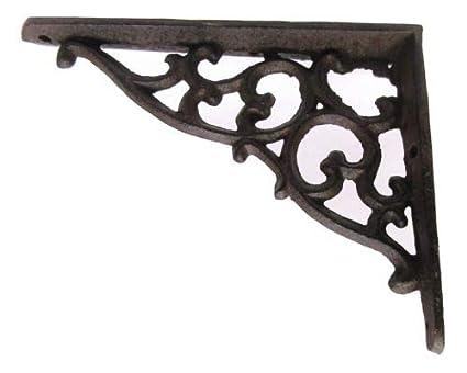 Amazon.com: Lote/Set de 4 de hierro fundido de estilo ...