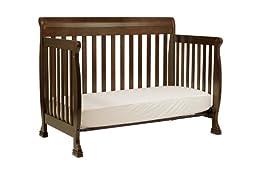 DaVinci Kalani 4-in-1 Convertible Crib with Toddler Rail, Espresso