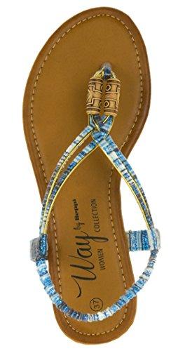 Bleu Bleu Pour Sandales Femme Beppi Bleu qw6BgnY
