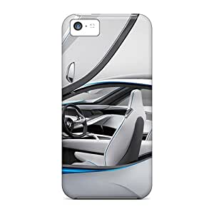 Flexible Tpu Back Cases Covers For Iphone 5c - Bmw Vision Efficient Dynamics Concept Black Friday