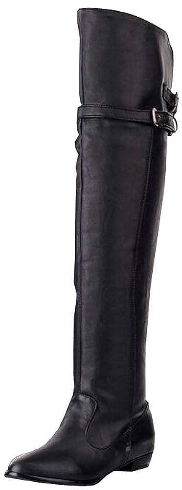 XiuHong Shop Hohe Stiefel Berufstätige Damen Damen Damen Stiefel Ritter Stiefel 2cd52b