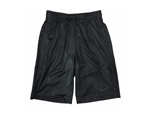 Nike Boys Dri-Fit Fly Knurling Training Shorts Dark Grey Medium