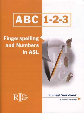 - Harris Communications BDVD192 ABC-123 Finger Spelling and Numbers in ASL - Student