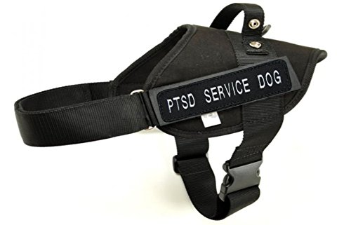 Service Harness Embroidered SERVICE Badges product image