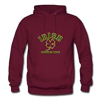 Creative Women The Irish Drinking Team St Patricks Day Image X-large Sweatshirts Burgundy